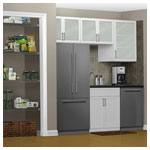 Satin Chrome Basic Pantry