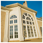 Architectural Specialty Fixed Windows with Custom Grilles