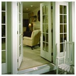 E-Series Inswing French Door, Sidelights with Divided Light