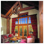 E-Series Fixed Units, Window Transom and Inswing French Door with Divided Light