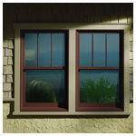 A Series Double Hung Exterior View