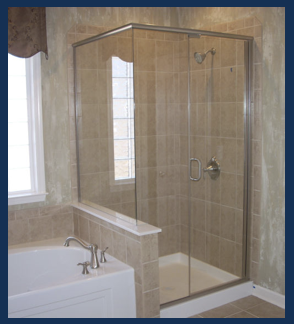 Semi Frameless Shower Door Enclosure