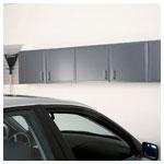 Hammered Grey Upper Cabinets