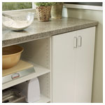 White Pantry 24 inch counter detail