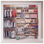 Shelf Track Kid's Closet