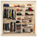 Shelf Track Teen Closet