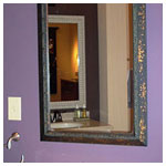 Framed Mirror #350-20