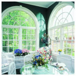 E-Series Double Hung Colonial Grilles Arch Tops