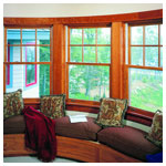 E-Series Double Hung Units with Divided Light