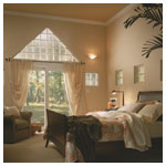 Hylite Triangle Window in Bedroom
